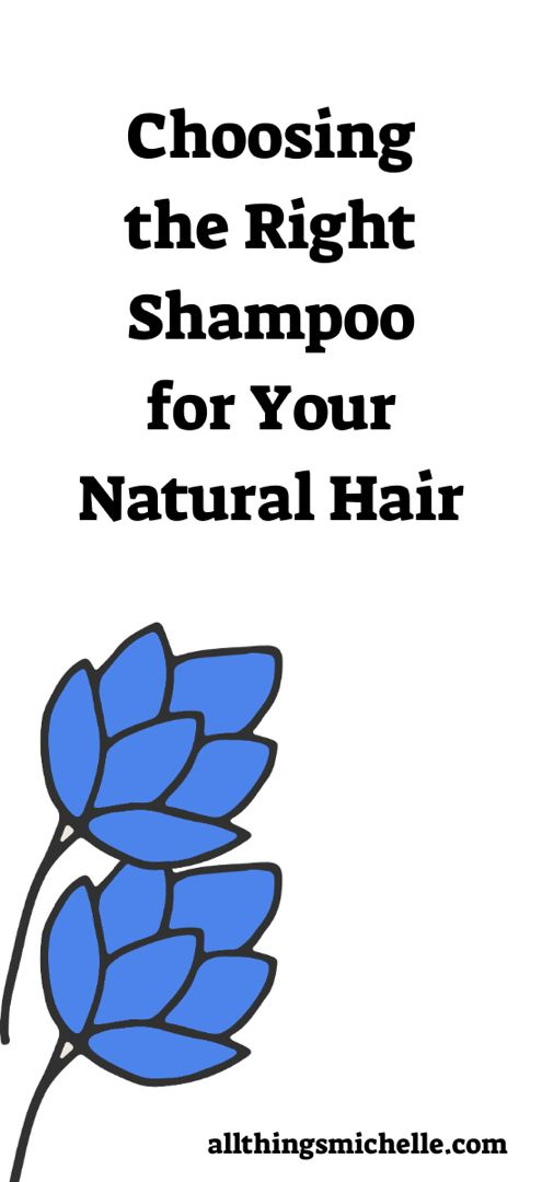 Choosing the Right Shampoo for your Natural Hair