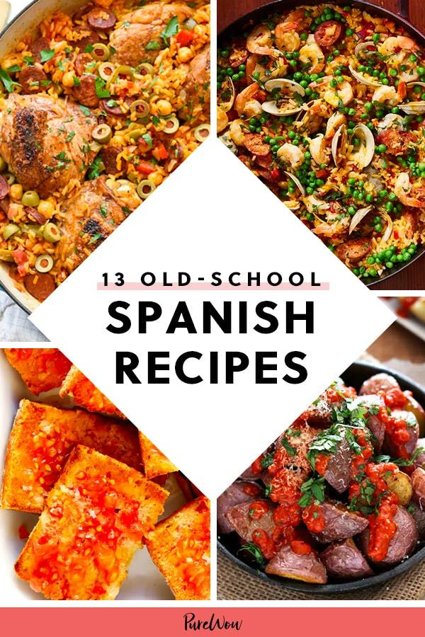 13 OldSchool Spanish Recipes Your Grandma Used to Make
