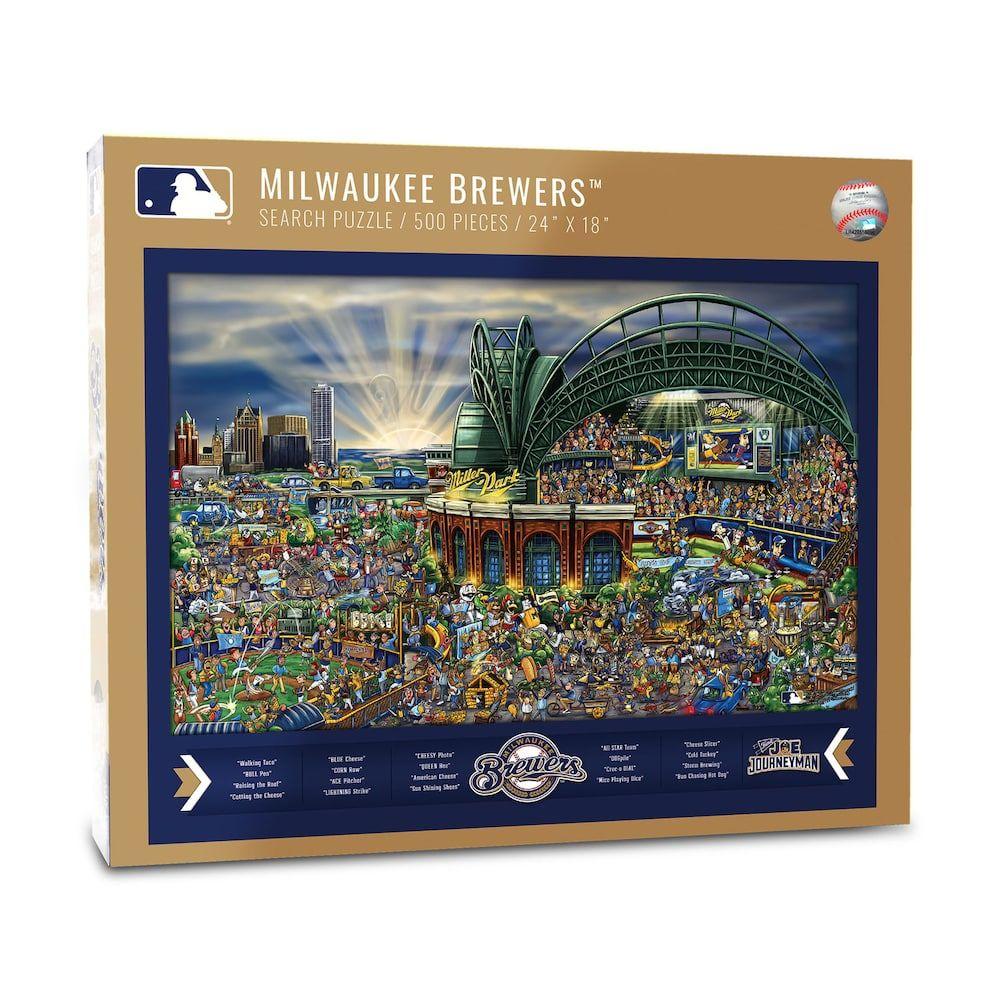 Milwaukee Brewers Find Joe Journeyman Search Puzzle