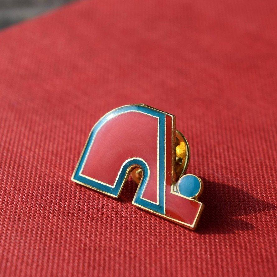 Quebec Nordiques Lapel Pin Vintage 1990s National