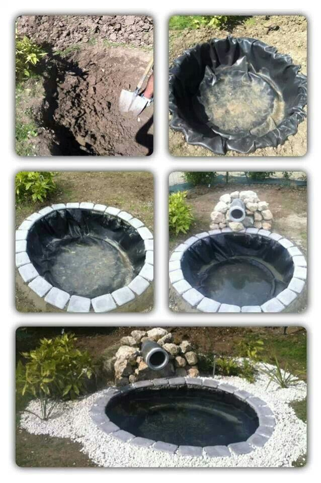 diy outdoor pond my husband really wants a pond - Diy Garden Pond Ideas