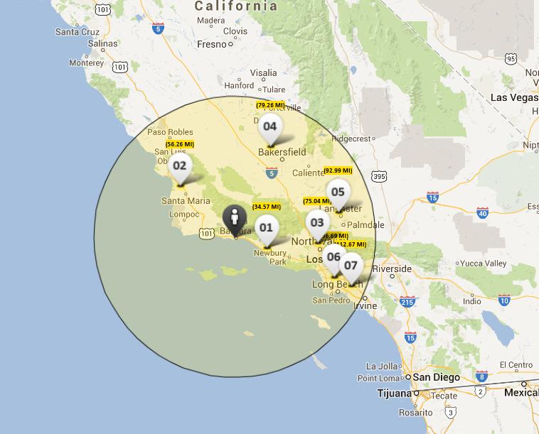 16) John Deere has dealers located conveniently for Santa Barbara Construction, in Santa Maria as well as Oxnard.
