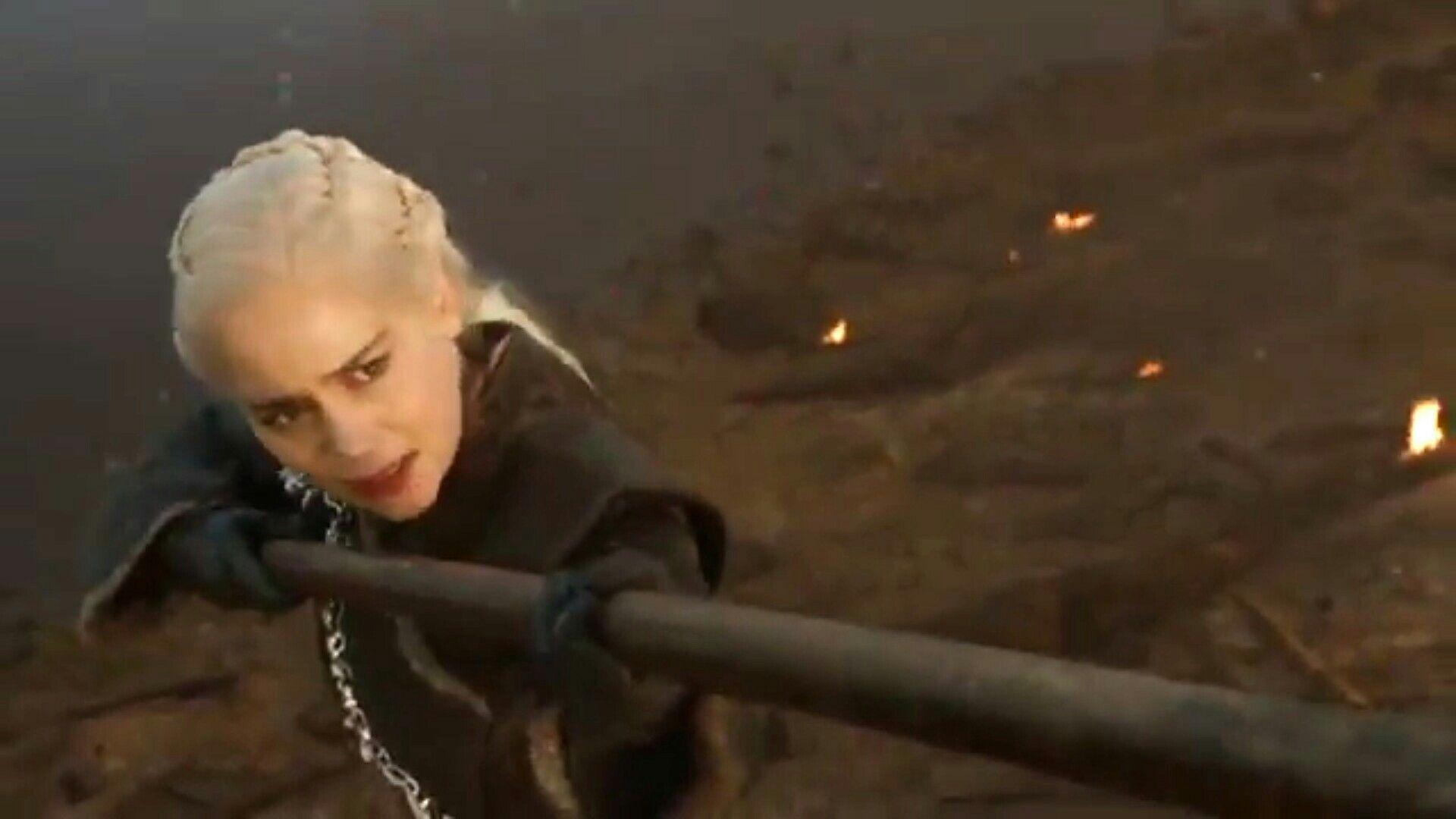 """Daenerys & spear (7x4 """"Spoils of War"""")"""