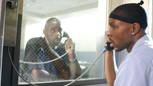 Avon Barksdale & StringerBell Wood Harris, Idris Elba in The Wire
