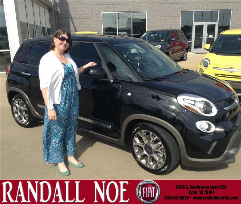 Congratulations to Amanda Brewer on your #Fiat #500L purchase from