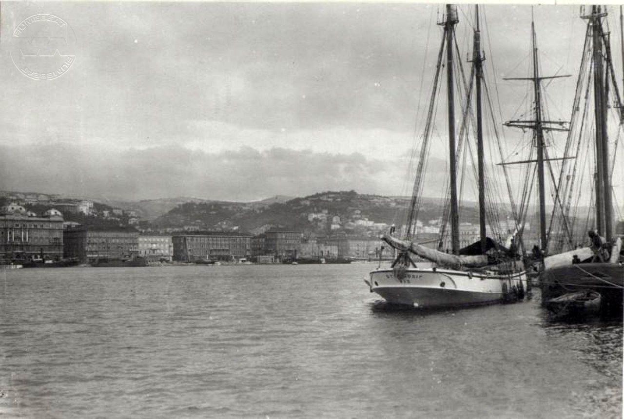 Rijeka panorama 1915
