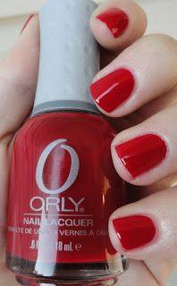 Orly Ma Cherie Nail Polish Holiday Soiree Nails