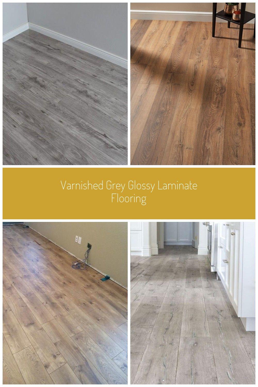Varnished Grey Gloss Wooden Floor Laminate Flooring Varnished Grey Glossy Laminate Flooring Oak Laminate Flooring Flooring House Flooring