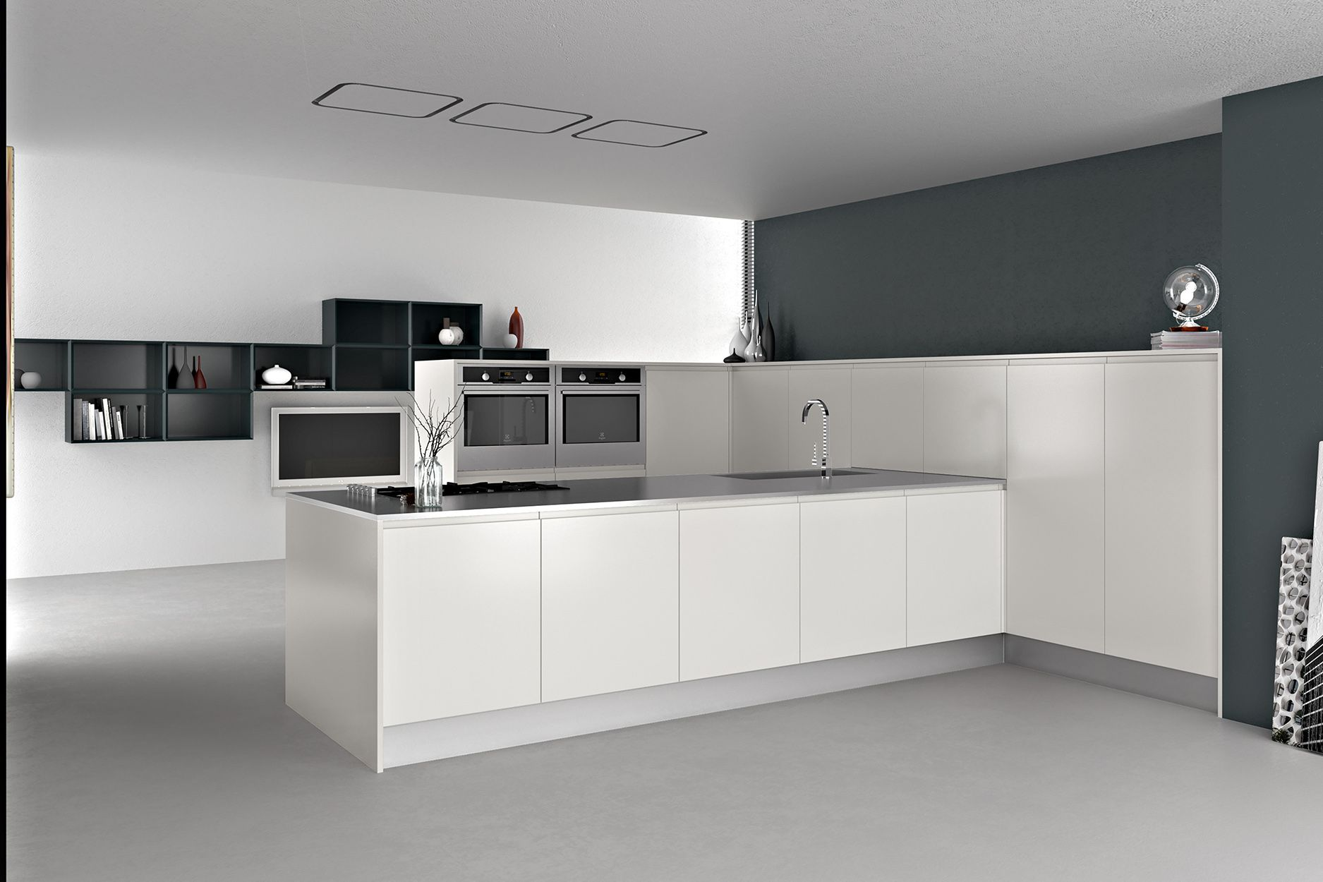 armony cucine - model pentha   model_kitchens with handles