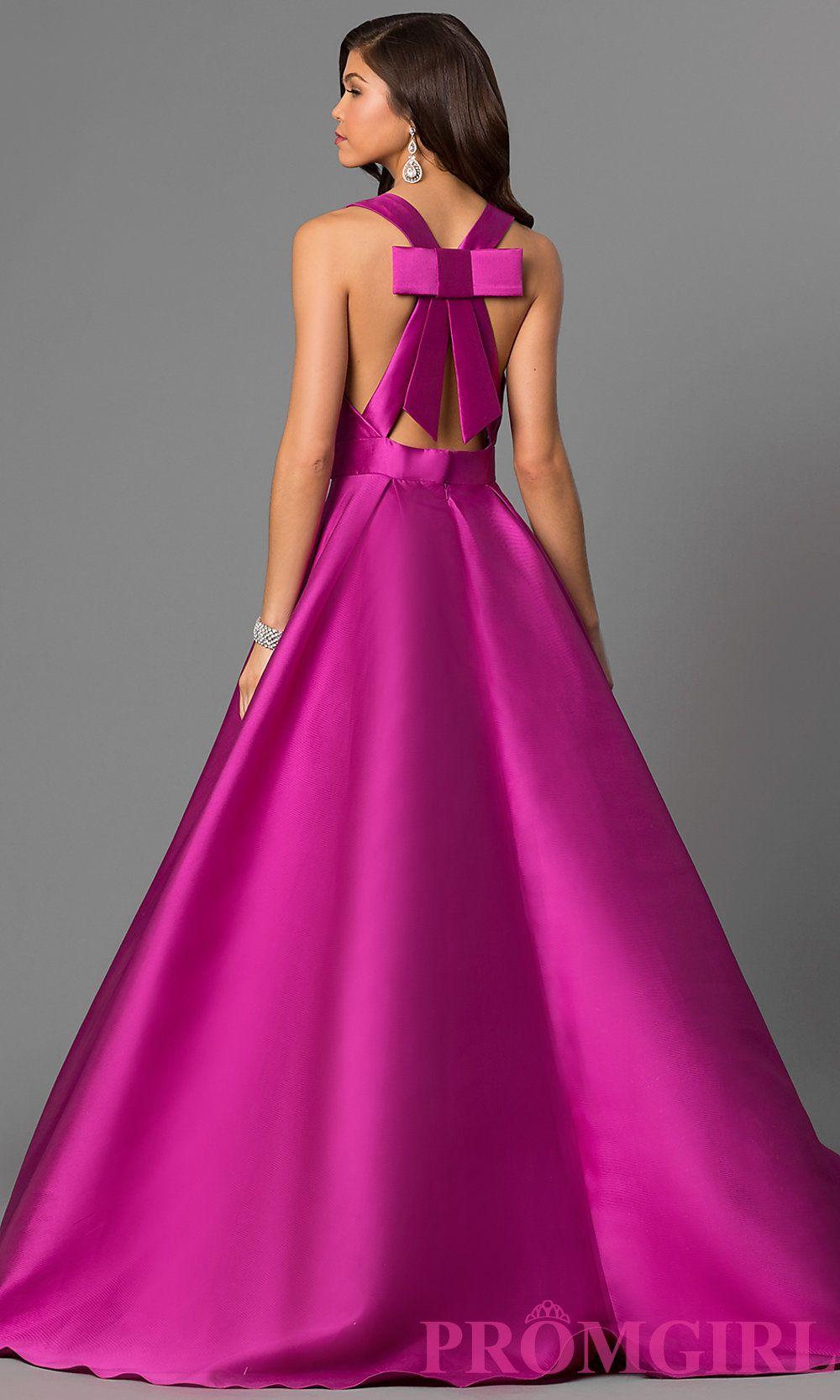 Long V-Neck Prom Dress from JVN by Jovani