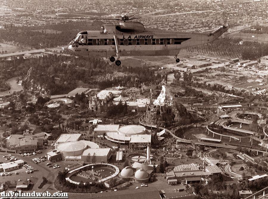 Disneyland Close Historic Calif Bungalow 9: Aerial Views, Pt. 2 & Steve Martin At Knotts