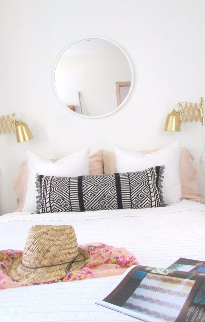 Turn A Target Table Runner Into Boho Lumbar Pillow Here Is Helpful Gallery Of Decorating Ideas For Utilizing Mirrors In Any Space