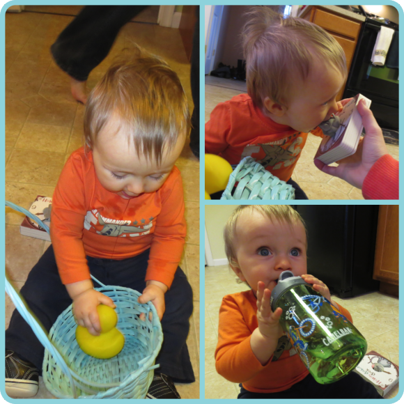 Happy easter easter baskets easter and babies perfect things to fill your babys easter basket with when theyre 10 months old negle Gallery