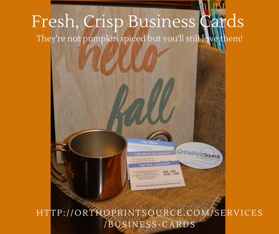 Breeze into fall with a custom business card httporthoprintsource breeze into fall with a custom business card httporthoprintsource reheart Image collections