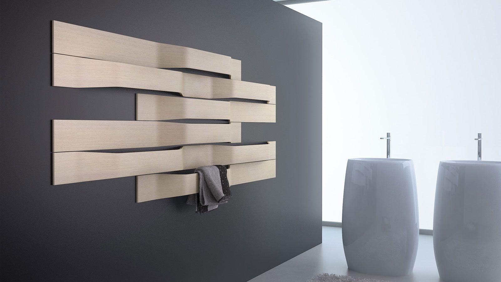 Carrelage Salle De Bain Effet Beton ~ Id E Radiateur Design Horizontal Rangement Cach Pinterest