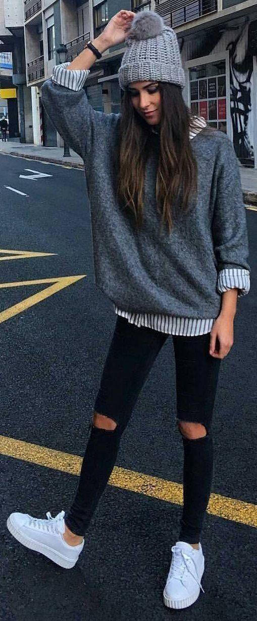 20 Herbst Outfits Ideen zum Besten von Frauen Casual Hemdsärmelig und reibungslos