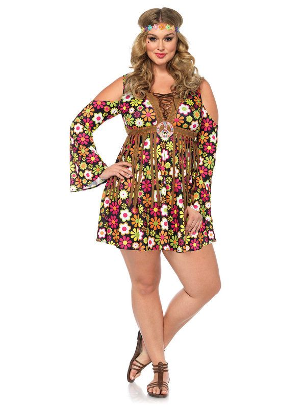 b304220a774 Sexy Women s Curvy Starflower Hippie Dress