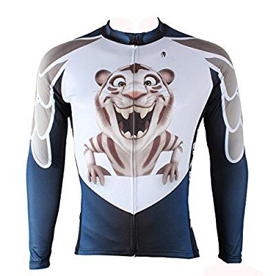Ilpaladino Men Spring Summer Autumn Fashion Long Sleeve Biking Jerseys Size Small