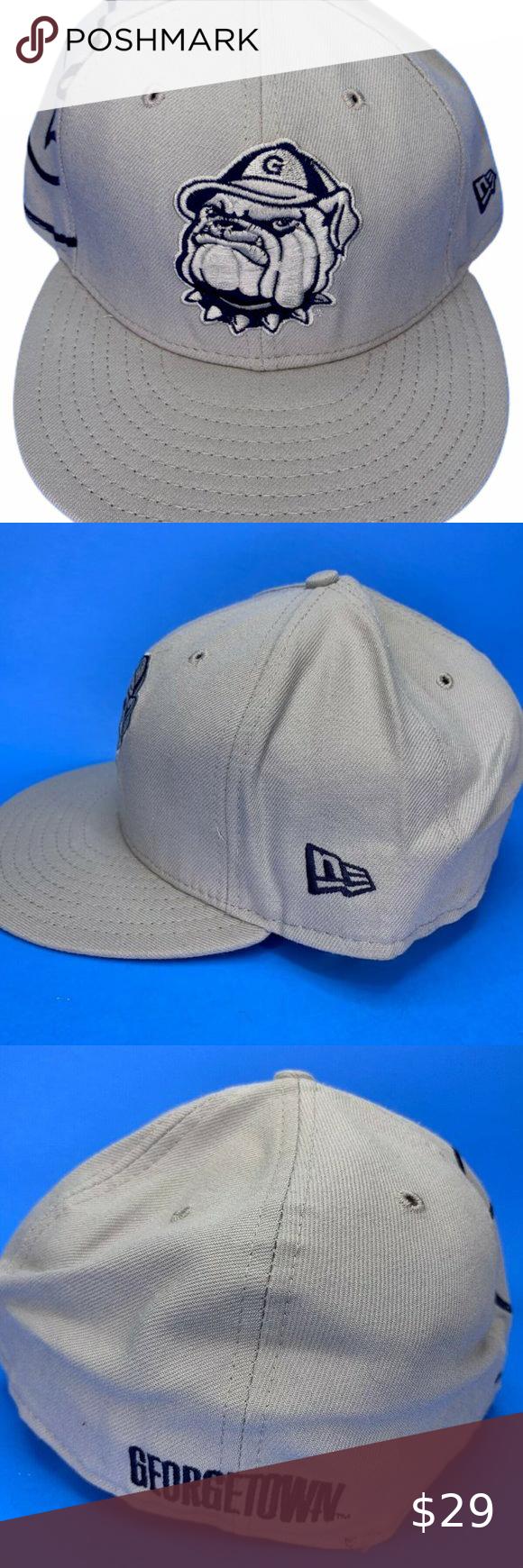Ncaa Georgetown New Era Hat Size 7 3 4 Ncaa Georgetown New Era Hat Size 7 3 4 All Colors Bright Vibrant I Will Ship This Item O New Era Hat New Era Hat Sizes