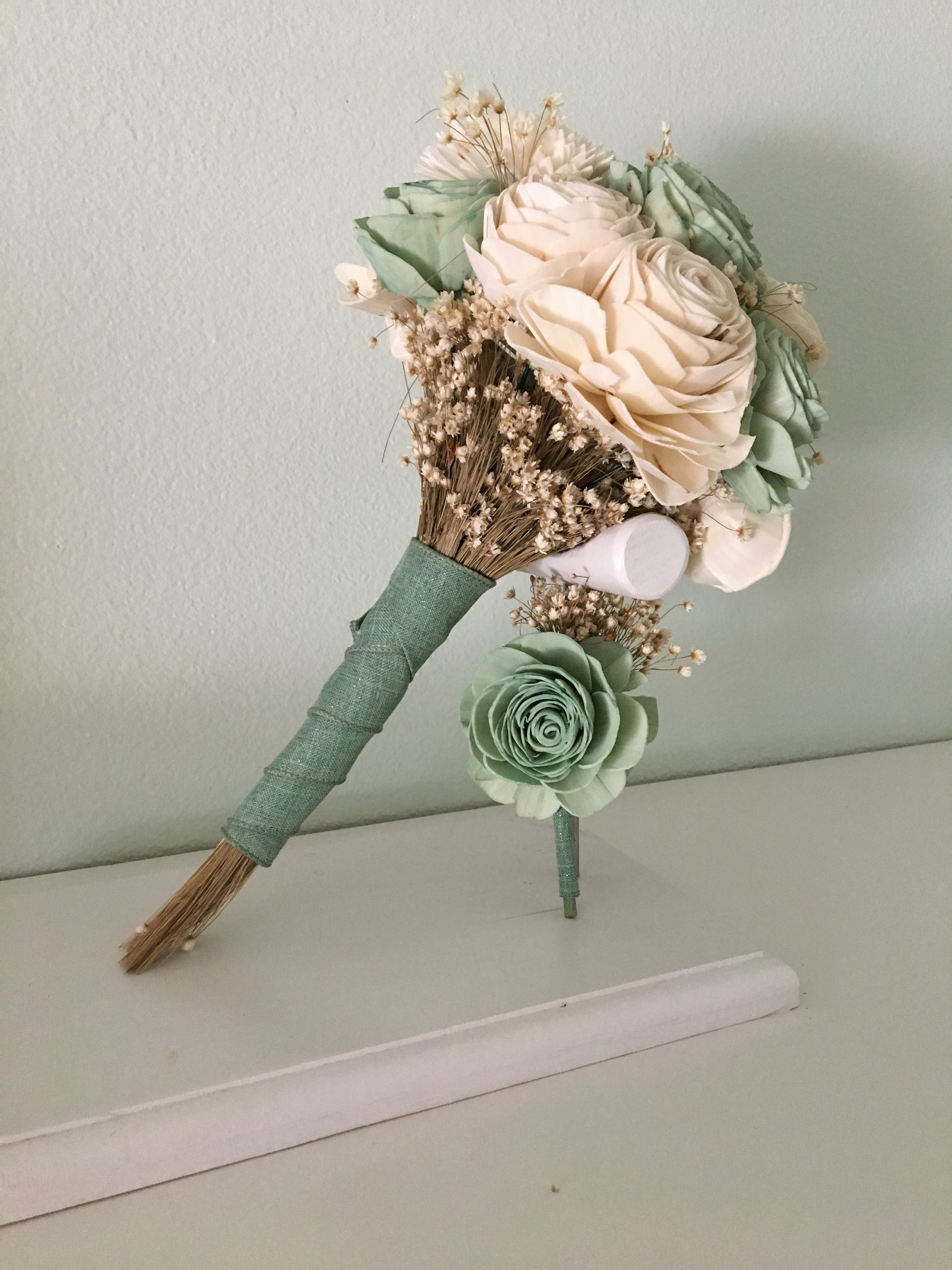 Sage green wood flower bouquet six sizes available plus diy kits sage green wood flower bouquet six sizes available plus diy kits sola wood flowers pinterest sola wood flowers flower bouquets and wood flowers izmirmasajfo
