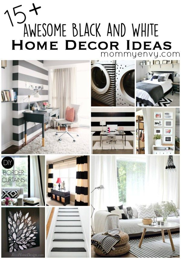 15 Awesome Black And White Home Decor Ideas Black And White Home Decor Creates