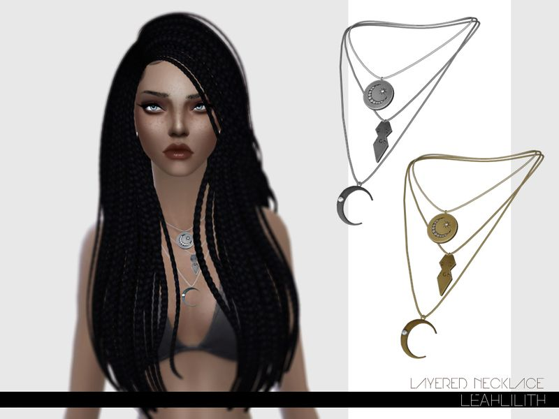 Leah Lillith's LeahLillith Layered Necklace