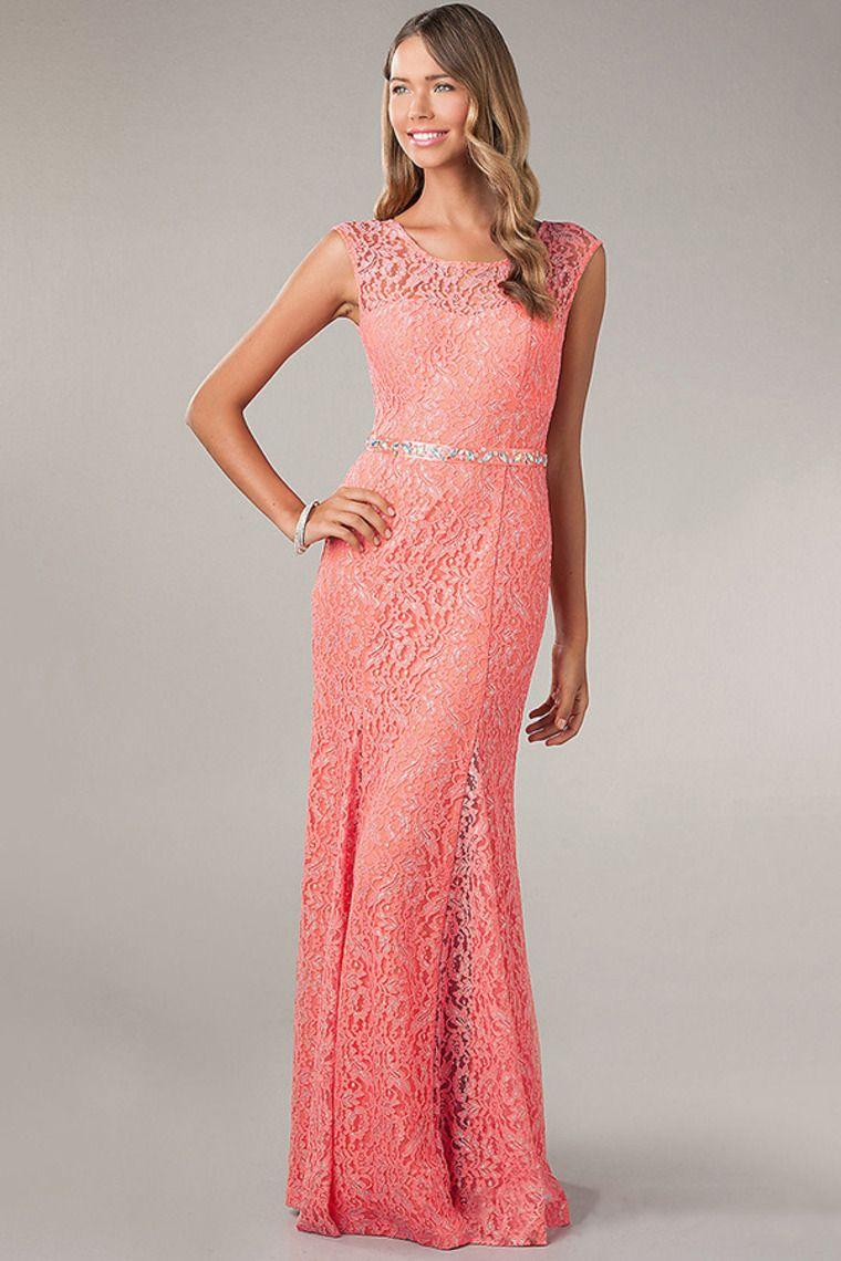 new arrival scoop neckline sheathcolumn open back prom dress