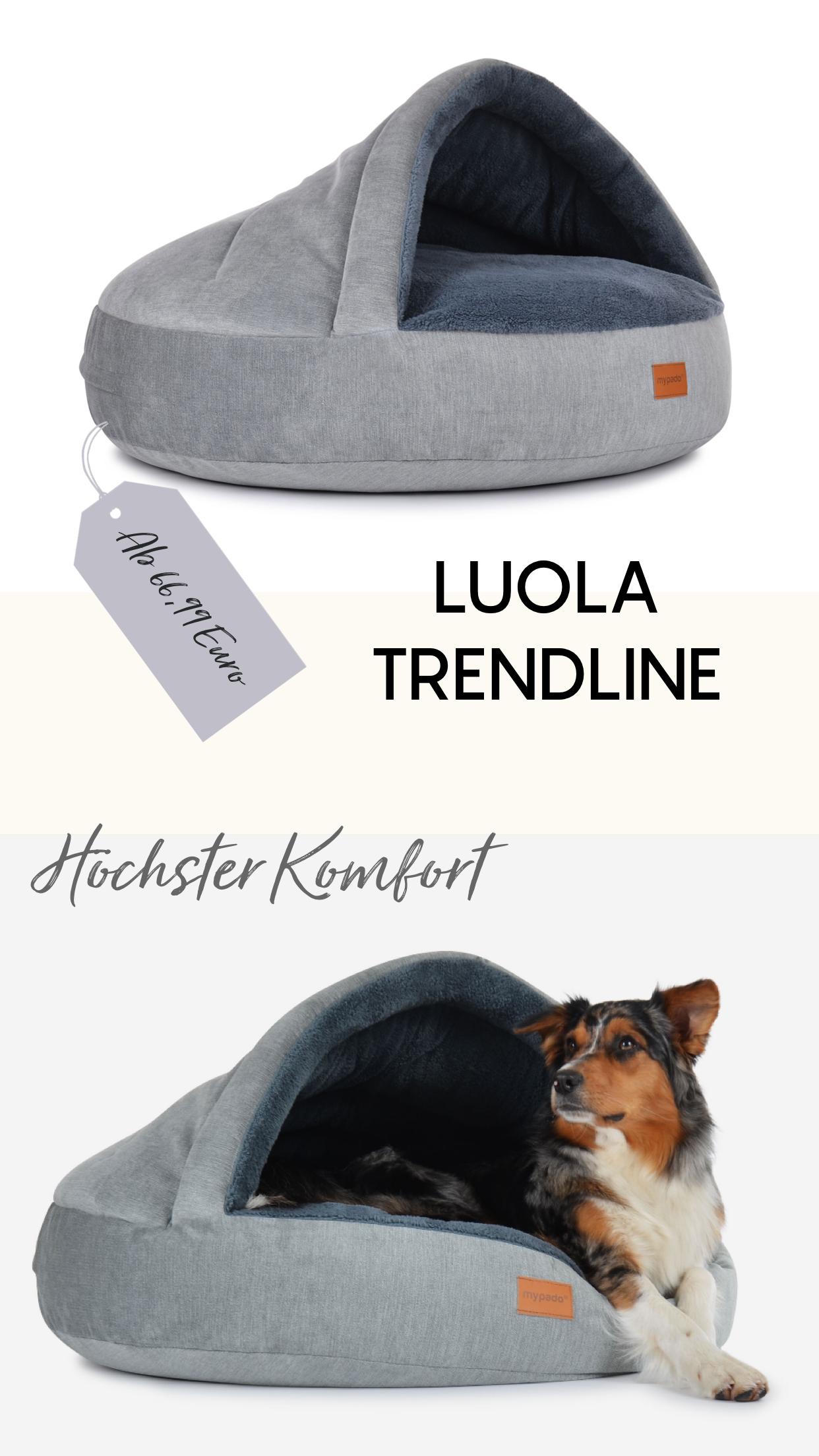 Luxus Luola Hundebett Hunde Bett Hundehohle Katzen Bett