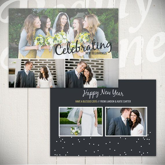 new years card template confetti c 5x7 new year card template for photographers