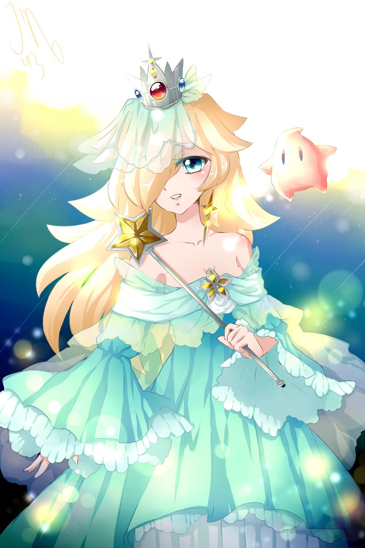 Harmonie et luma nintendo pinterest jeux vid os - Manga princesse ...