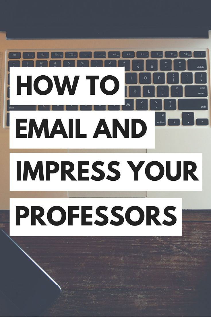 How to Email Your Professors (+ Free Email Template) | Professor ...