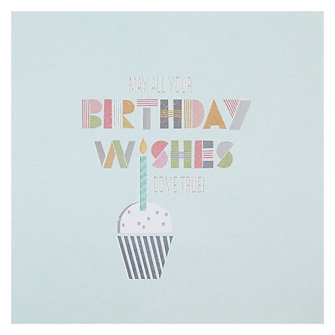 Hotchpotch Wishes Come True Birthday Card Birthday Cards Birthday Card Online Cards
