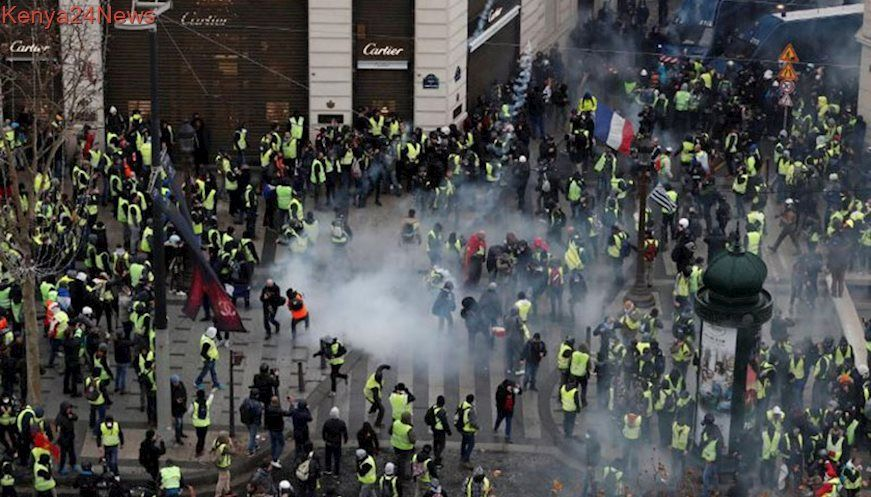 Citizens protest against high cost of living in France
