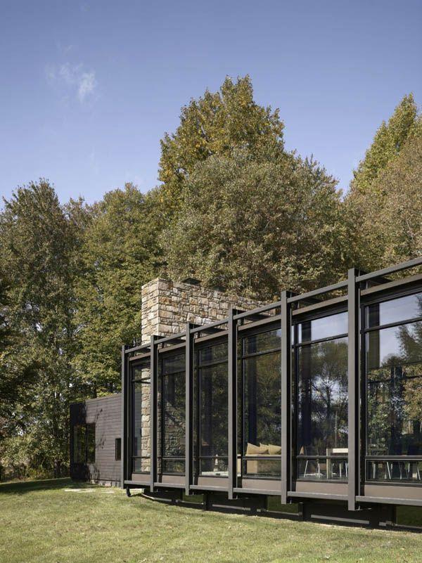 Modern Weekend House In Bus, Czech Republic | Weekend House, Modern And  House