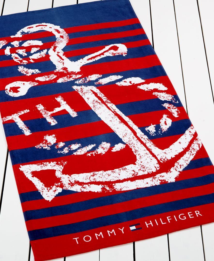Tommy Hilfiger Anchor Beach Towel
