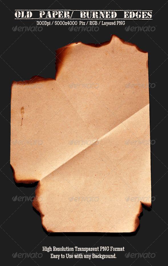 Old Paper 6 Font logo - blank paper background