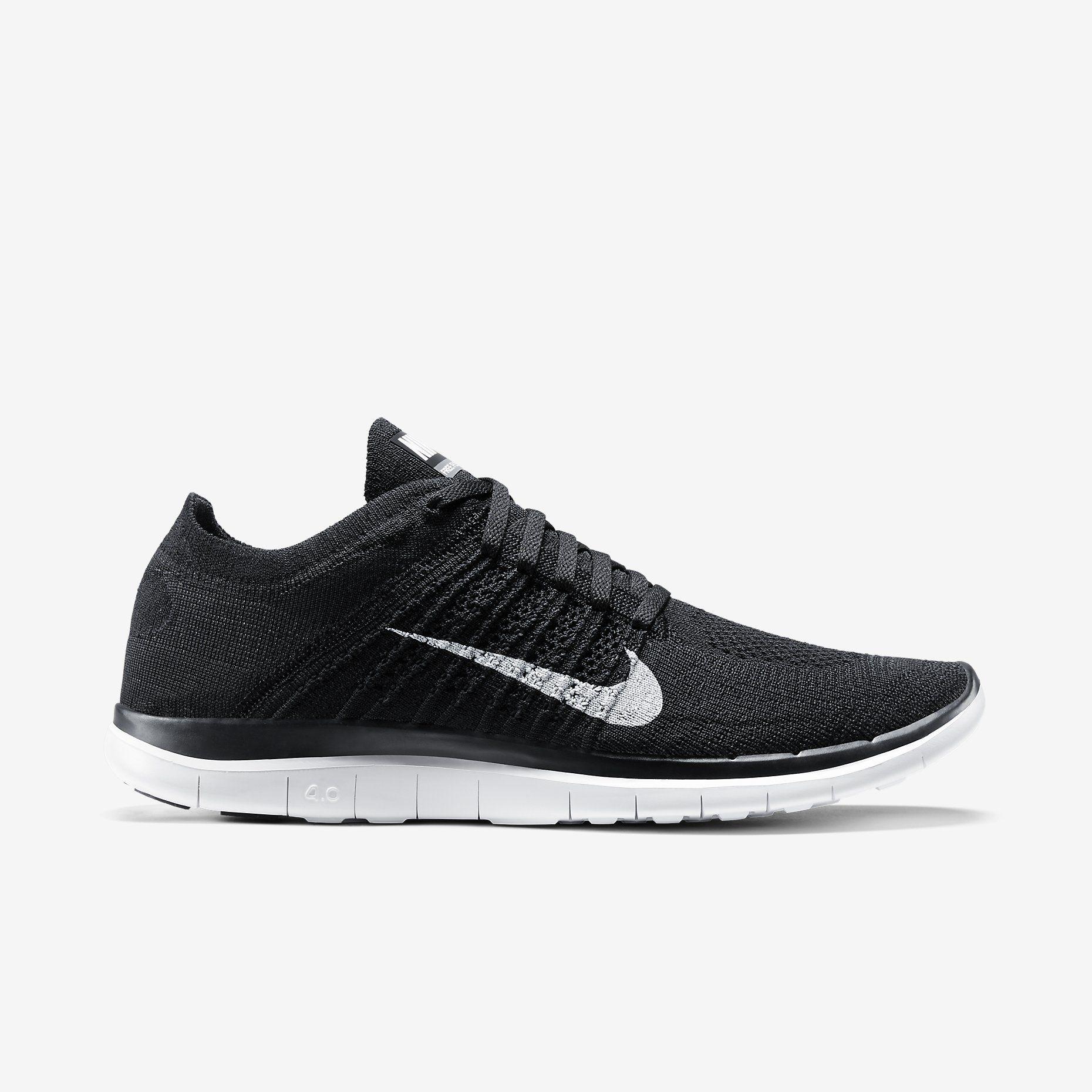 MMM Flyknit Nike Free 4.0 Flyknit Men's Running Shoe. Nike