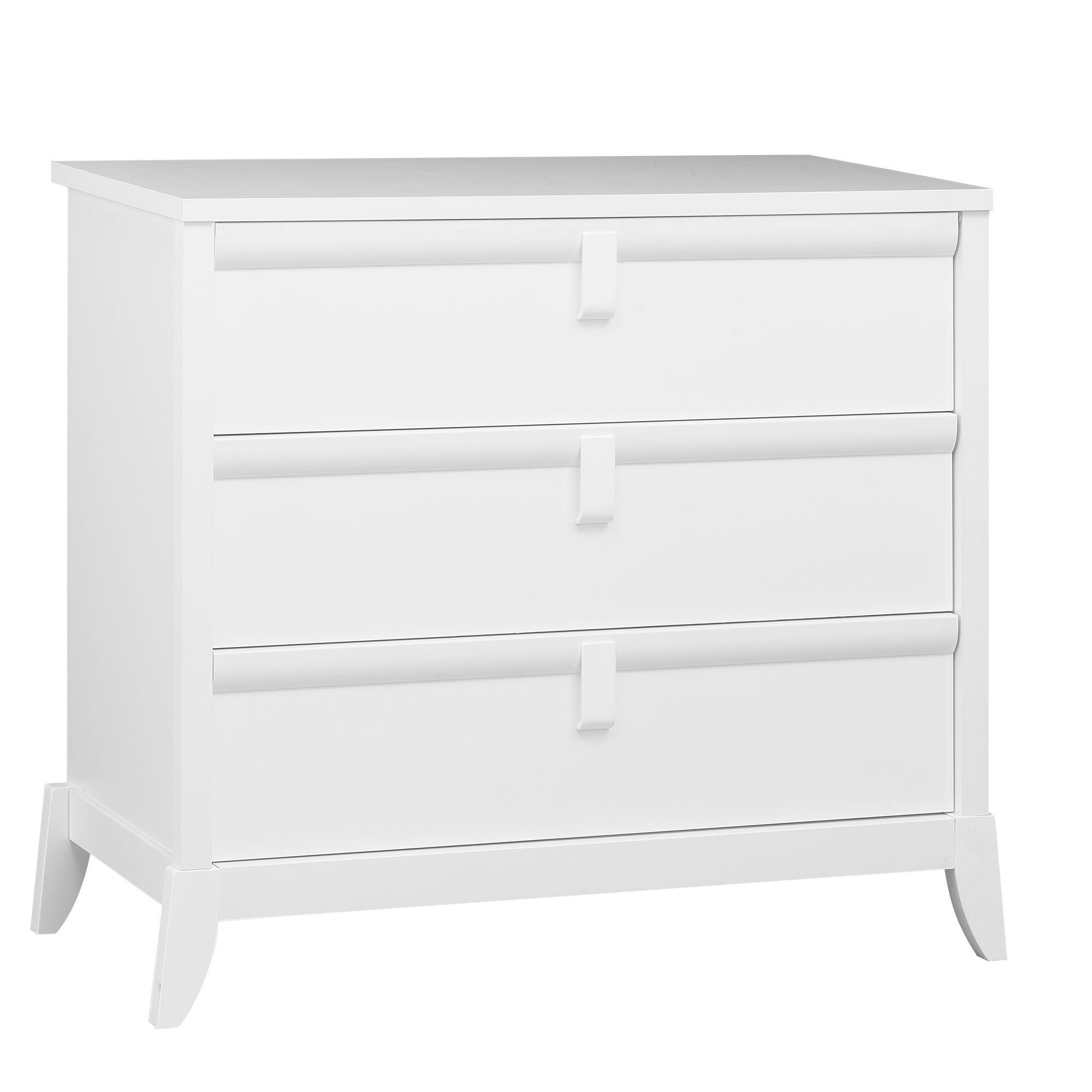 mode 3 tiroirs Blanc Flocon Les armoires et modes Les