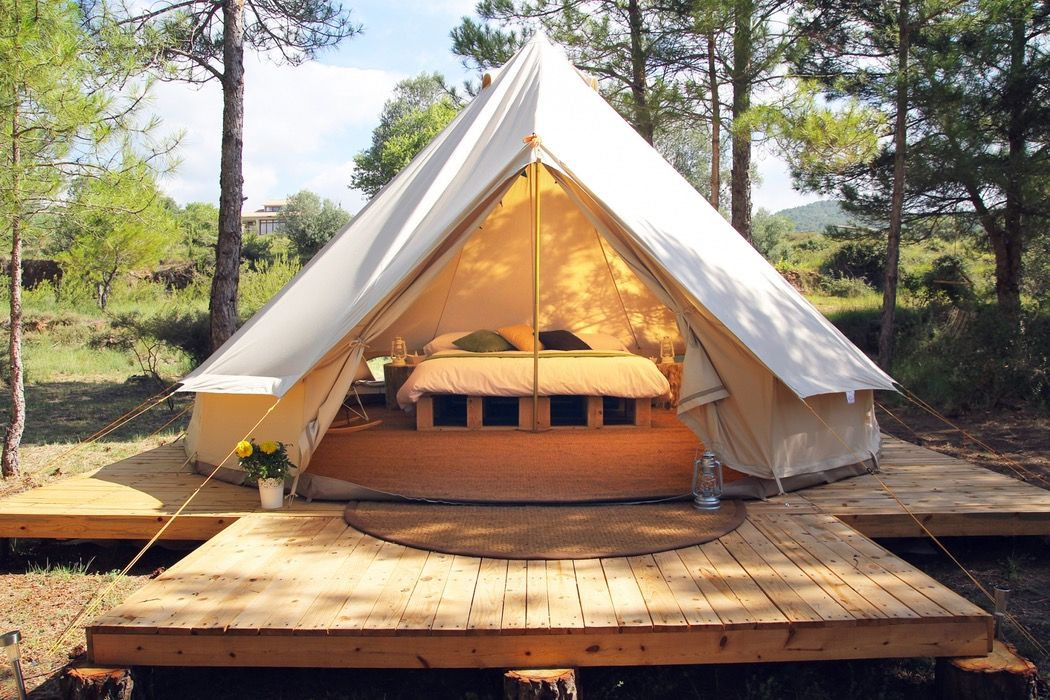 Forest Days Gl&ing - Lux bell tents one hour from Barcelona Spain & Forest Days Glamping - Lux bell tents one hour from Barcelona ...