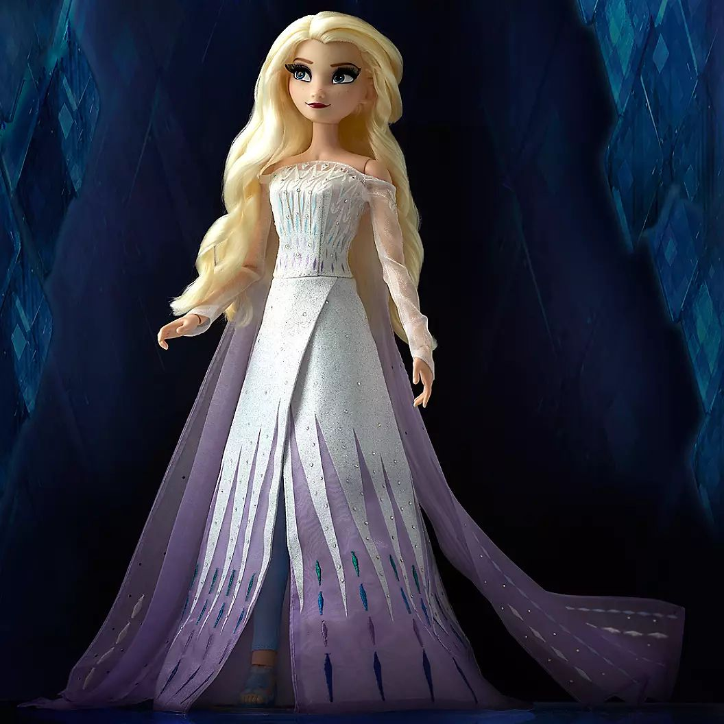 Frozen 2 Hd Wallpaper Elsa White Dress Hair Down Mobile In 2020 Disney Princess Drawings Frozen Pictures Disney Princess Pictures