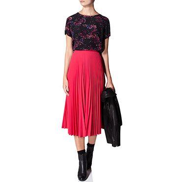 MARCS | Womens Pants & Skirts - SUNRAY PLEAT MIDI SKIRT