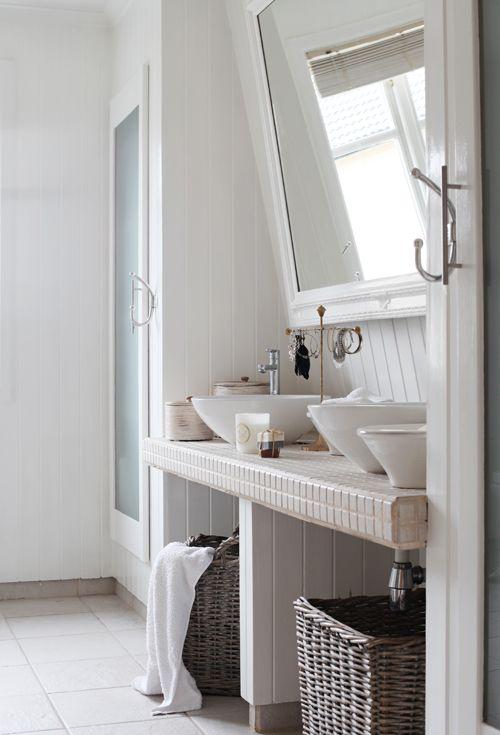 Pin von Petra de Vegt auf badkamer bathroom Pinterest - badezimmer ideen dachgeschoss