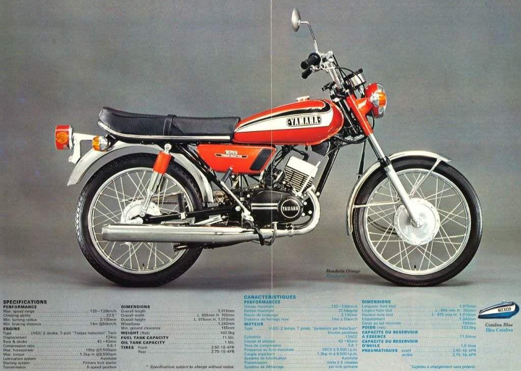 Yamaha Rd125 Motorcycle Yamaha Motorcycles Sports Super Bikes