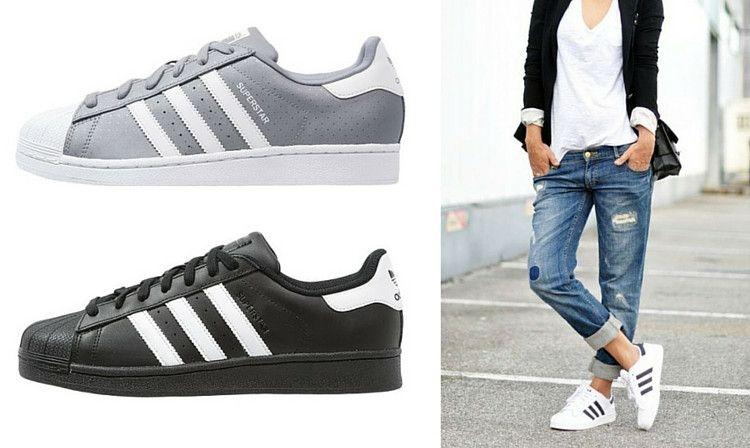 Stylizacje Z Superstarami Adidas Superstar Adidas Superstar Sneaker Womens Fashion Casual Adidas Sneakers