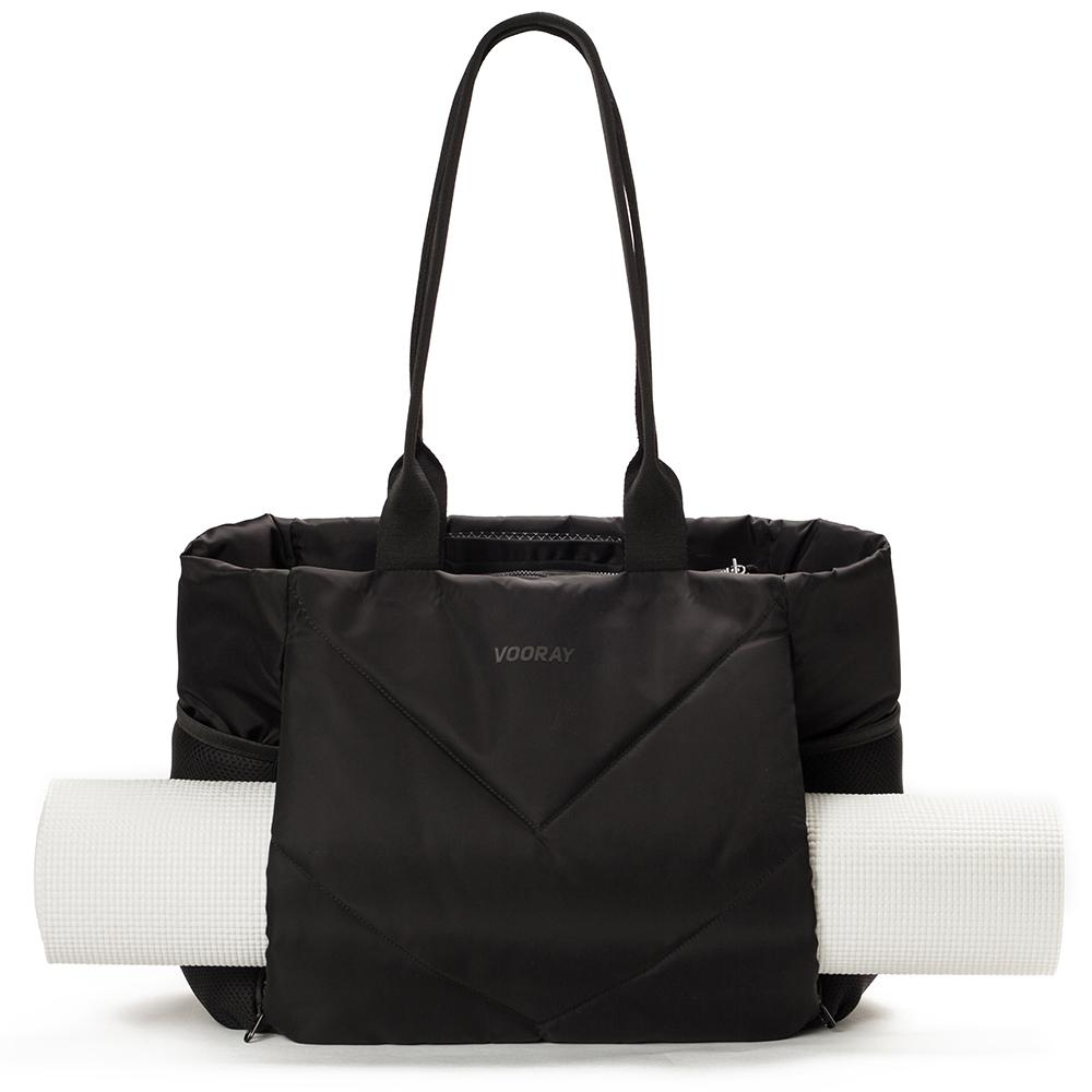 Vooray Aria Tote Gym Bag With Yoga Mat Holder Cute Gym Bag Yoga Mat Tote Tote