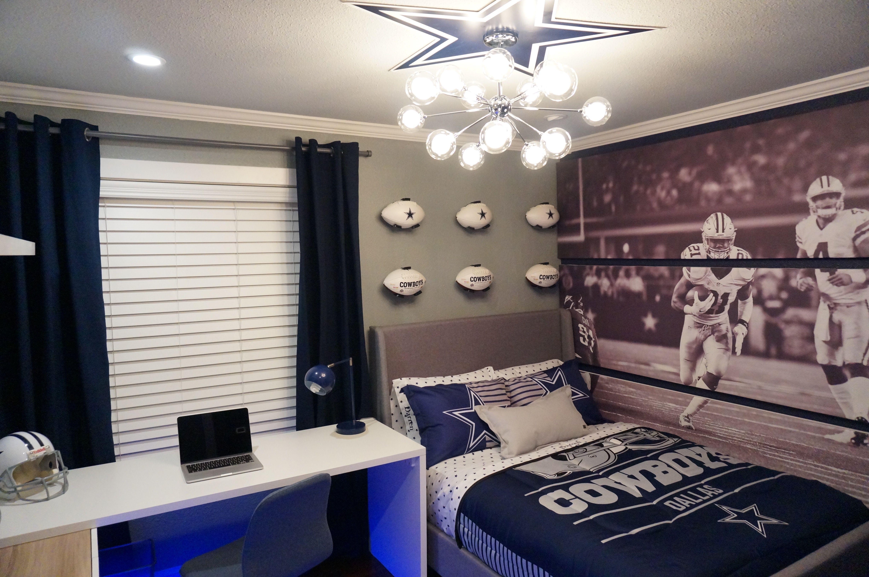 Dallas Cowboys bedroom ideas, | Dallas cowboys bedroom ...
