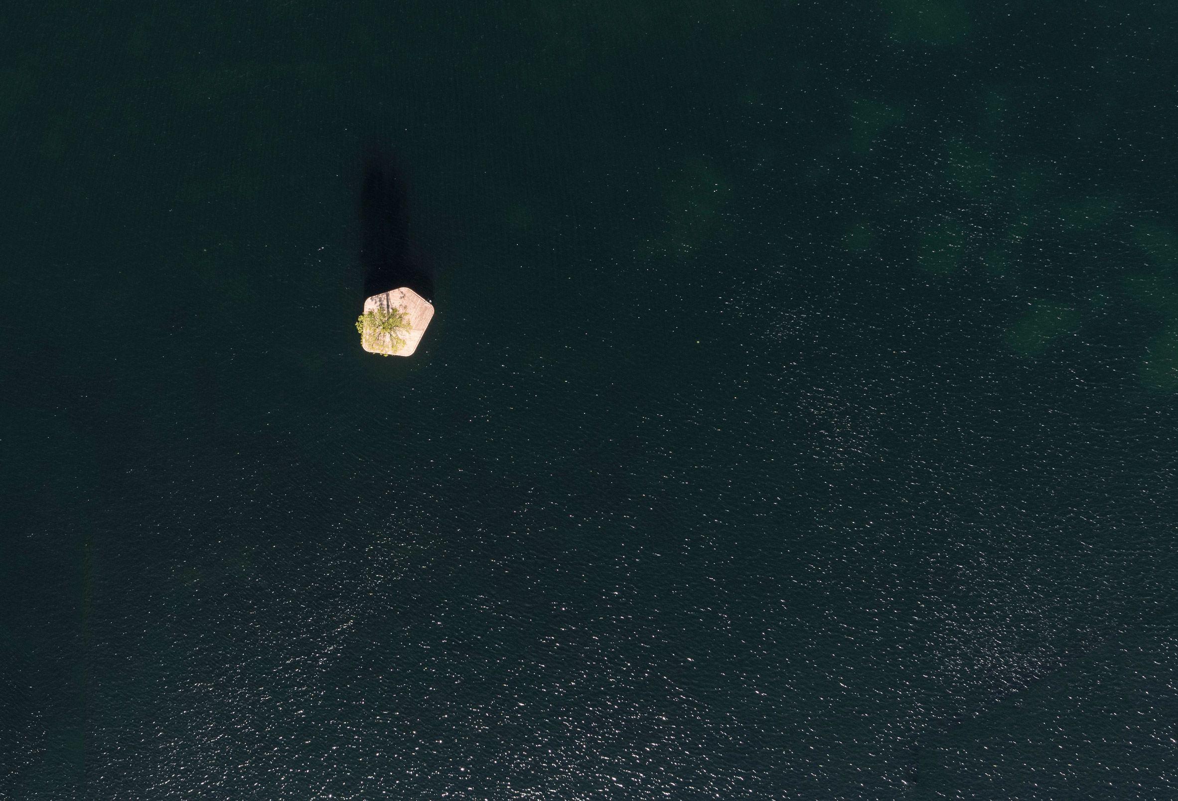 Artificial Island Creates Floating Events Space In Copenhagen Harbour Artificial Island Floating Copenhagen