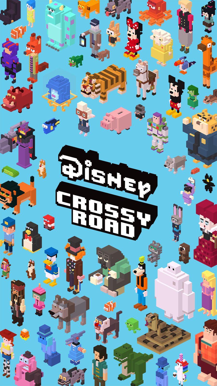 Disney Crossy Road #Action#Entertainment#apps#ios  Crossy road