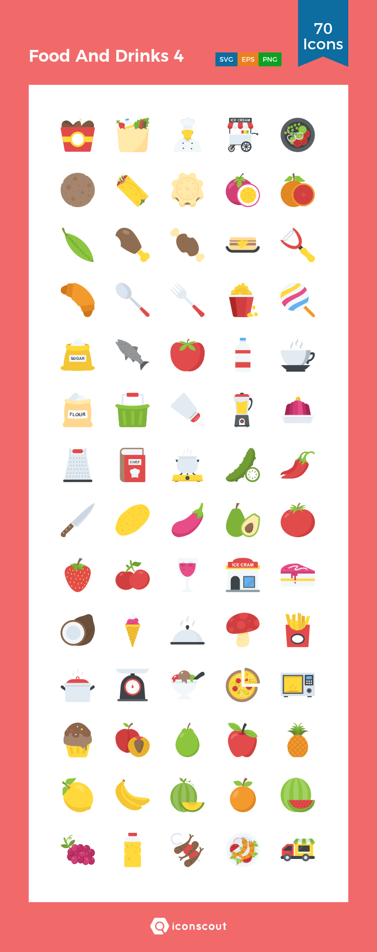 Download Food And Drinks 4 Icon Pack Available In Svg Png Eps Ai Icon Fonts Icon Pack Icon Food Icons