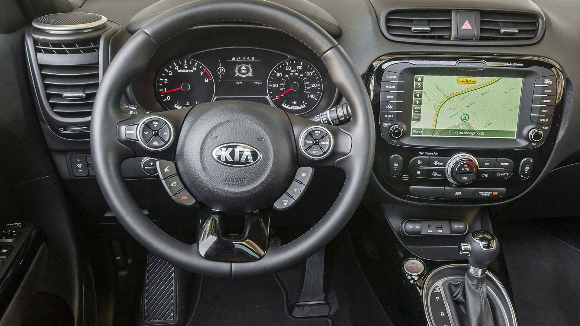 2014 Kia Soul Display 2014 Kia Soul Model